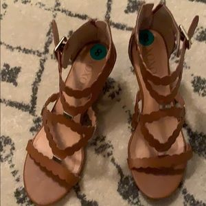 Shoes - XOXO Brown sandals